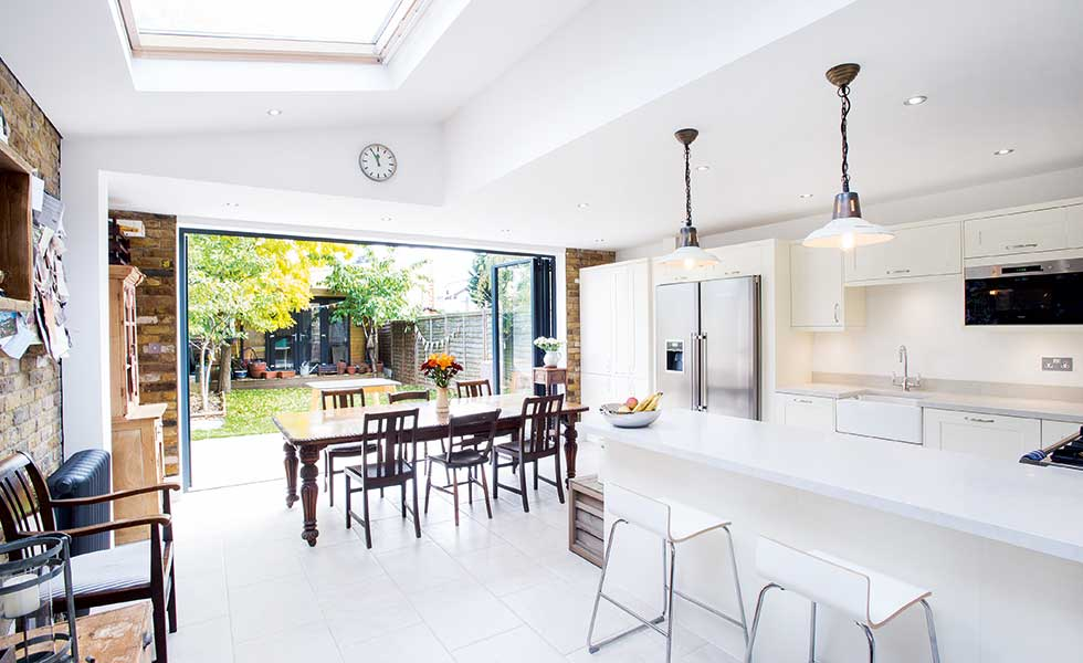 terrace house kitchen design ideas.  Side return extension to terraced home Real Homes