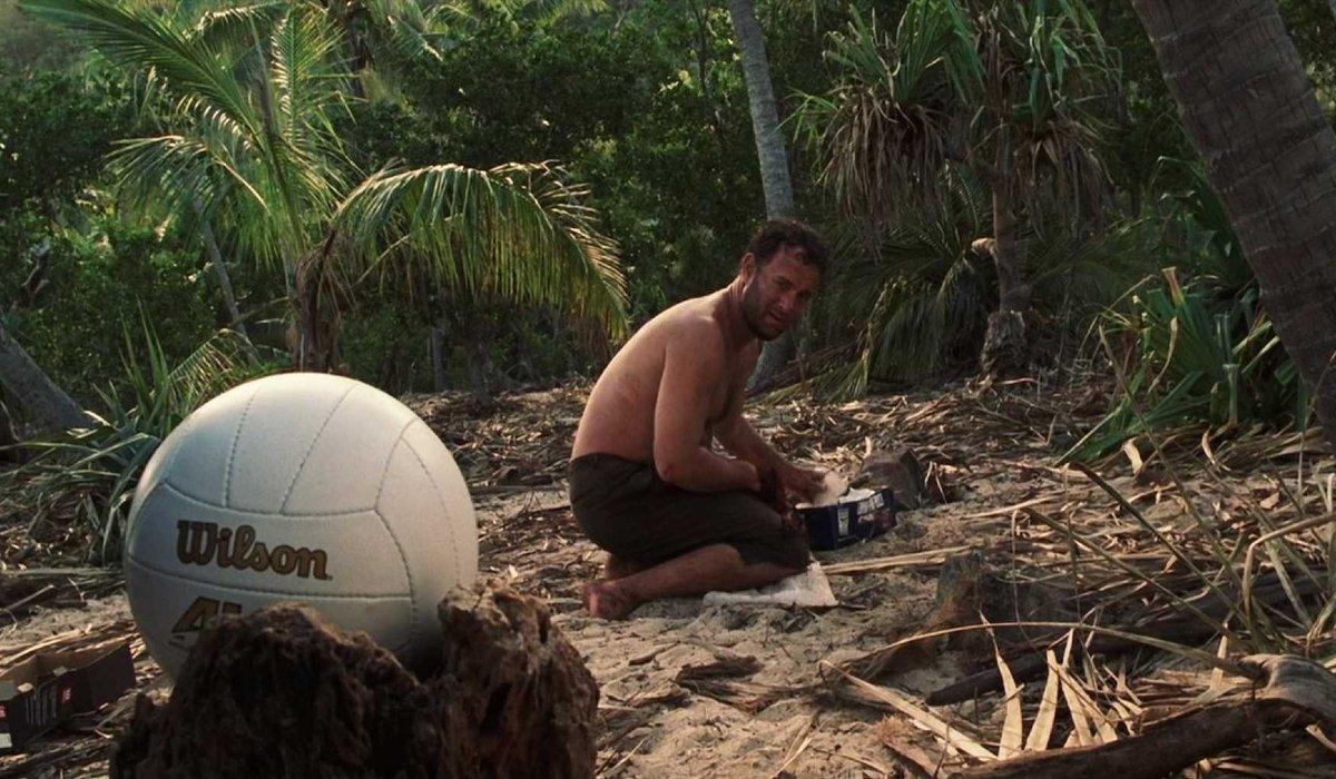 Cast Away Tom Hanks finds Wilson