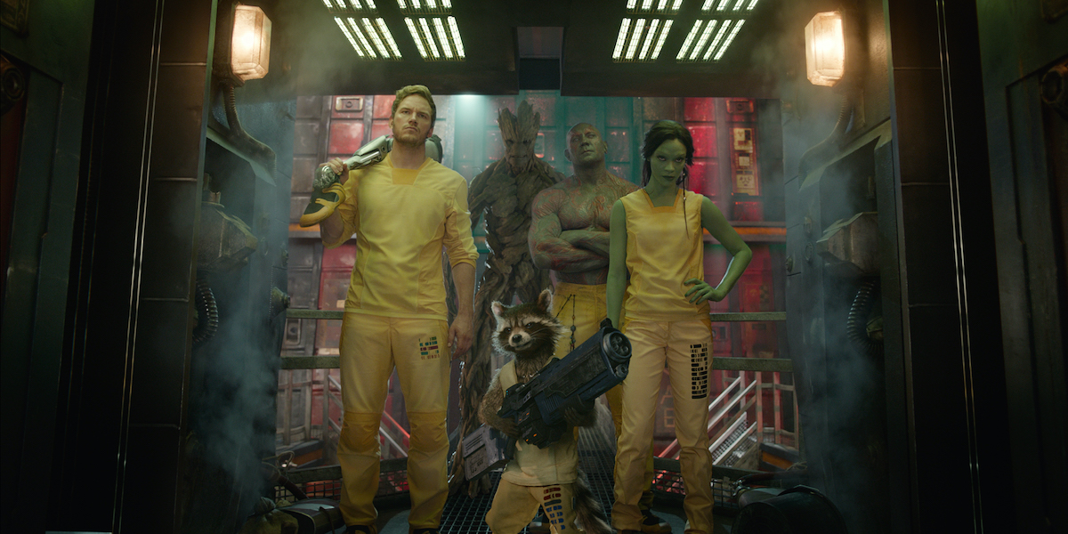 Guardians of the Galaxy in prison