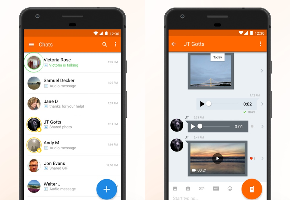 best chat apps: Voxer