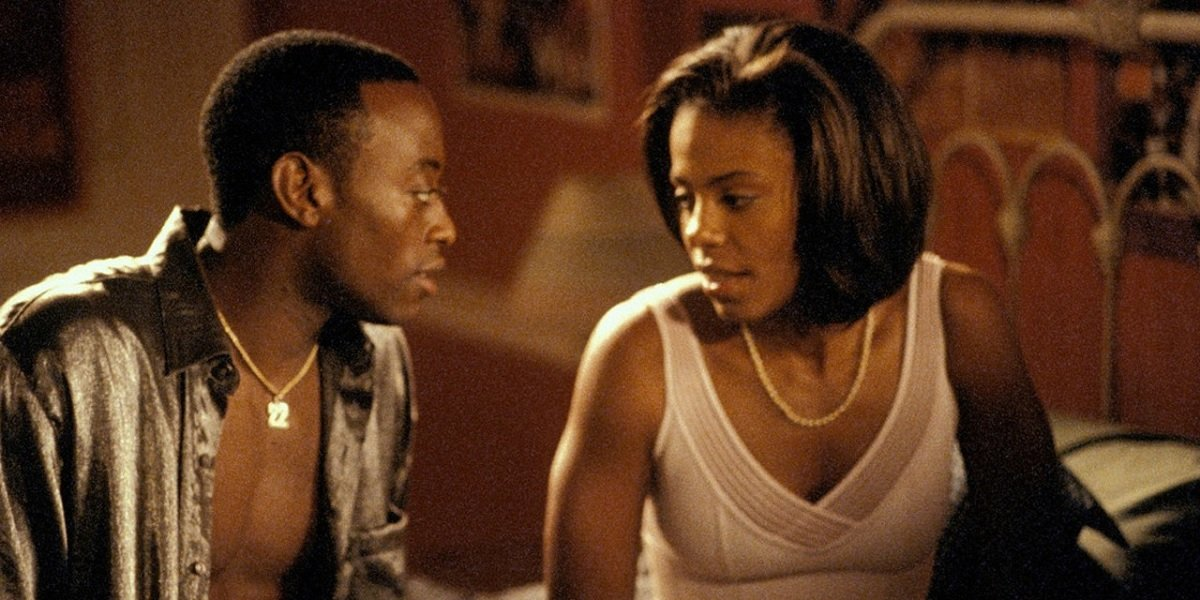Sanaa Lathan and Omar Epps in Love and Basketball