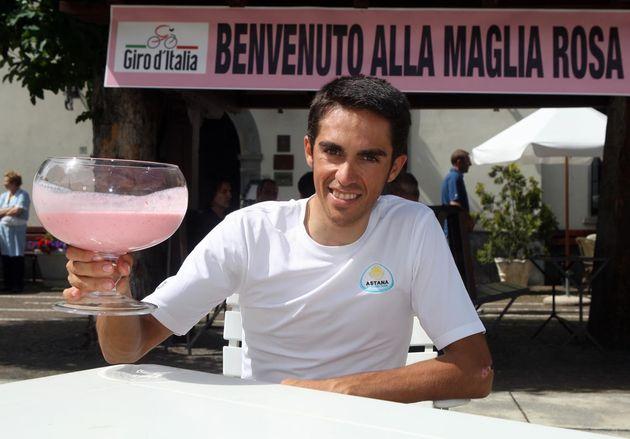Giro 2008 Alberto Contador rest day 2