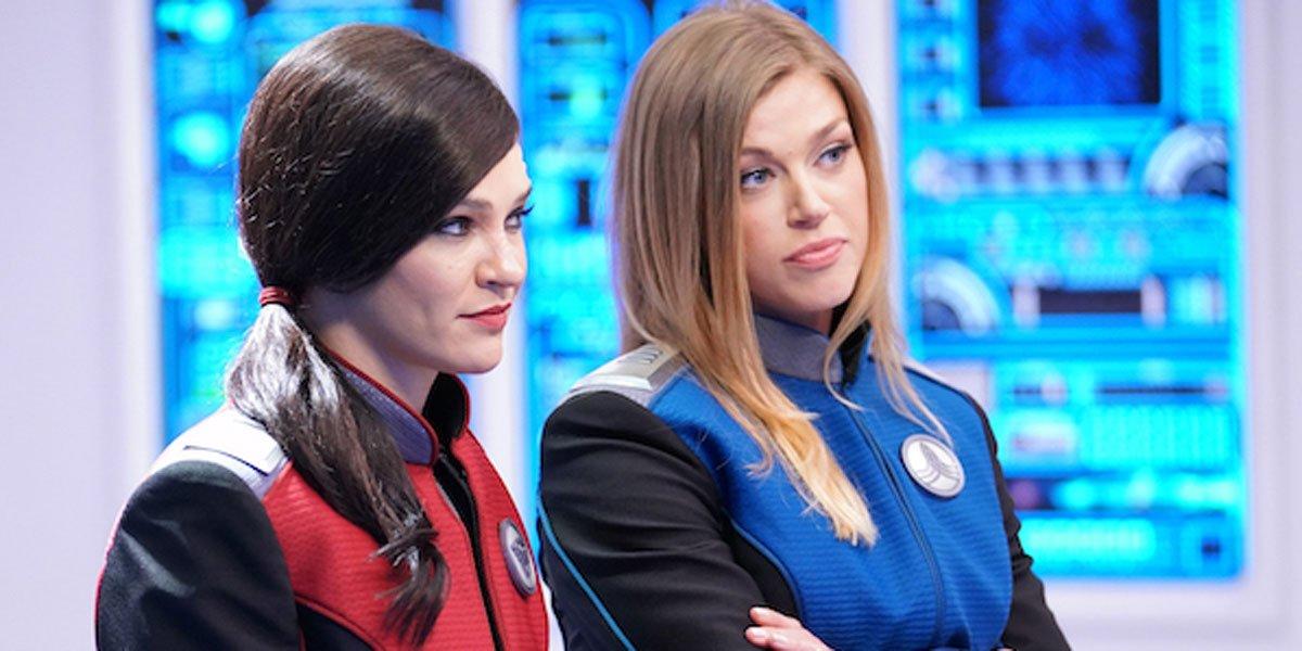 Jessica Szohr The Orville Season 3