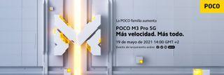 Evento lanzamiento Poco M3 Pro 5G