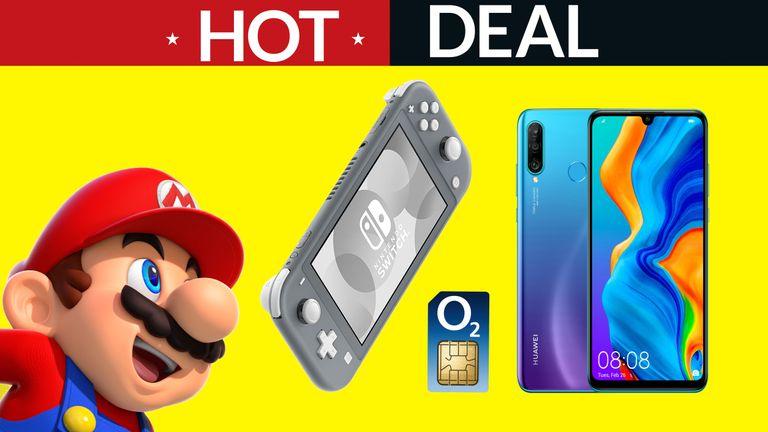 Black Friday Nintendo Switch Lite Huawei P30 Lite O2