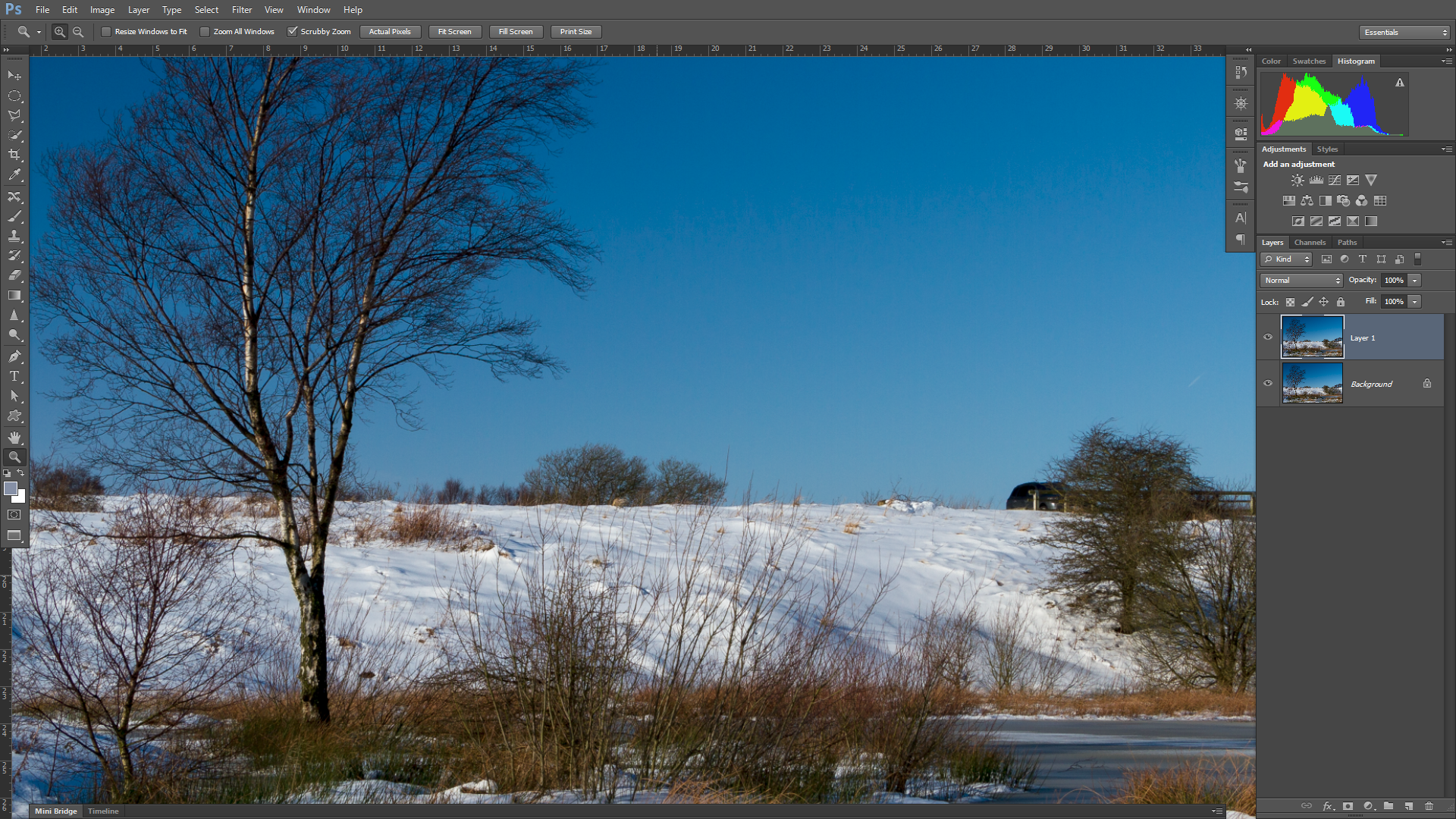 Fix composition in Photoshop with the Content Aware tool   Digital Camera World