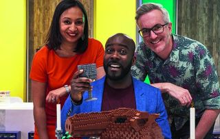LEGO fans battle it out in a series of fiendish challenges