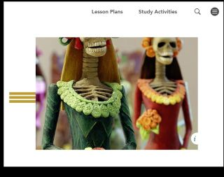 Well-Organized Resource Offers Lesson Plans & Interactives for Humanities