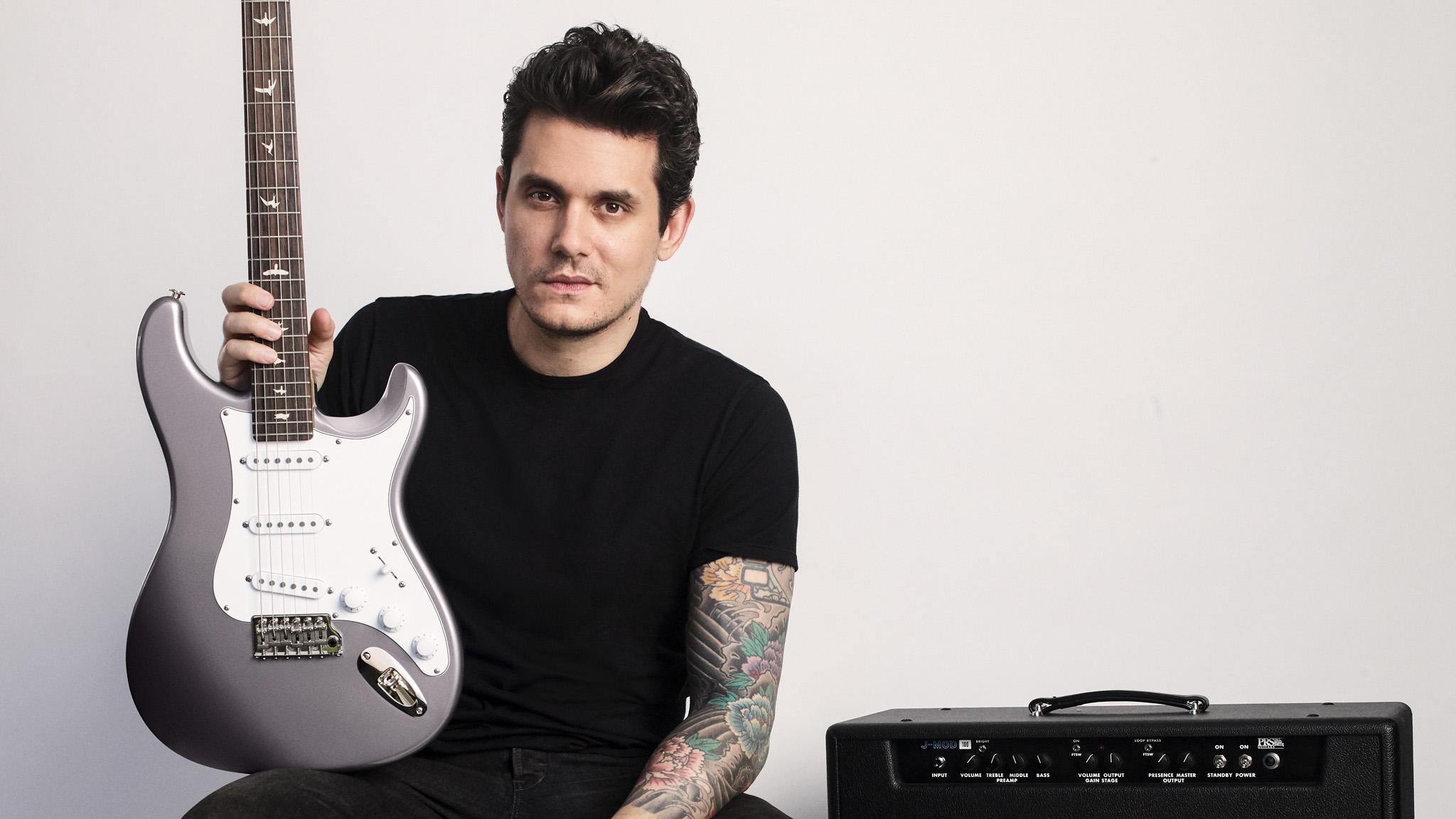 John Mayer finally announces his Strat-inspired PRS, the Silver Sky