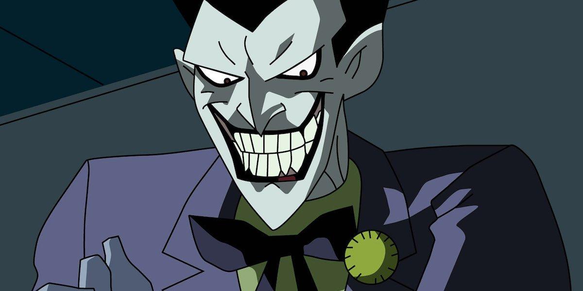 Mark Hamill's cartoon Joker