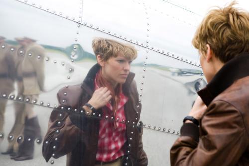 Amelia - Hilary Swank plays legendary aviator Amelia Earhart  in Mira Nair's biopic