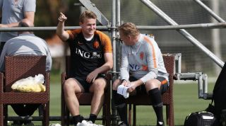 Matthijs De Ligt Ronald Koeman Netherlands Barcelona Ajax