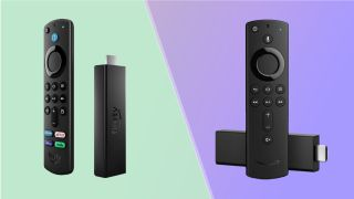 The Amazon Fire TV Stick 4K Max and the Amazon Fire TV Stick 4K