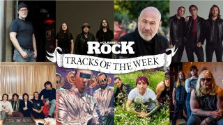 a montage of artists in tracks of the week