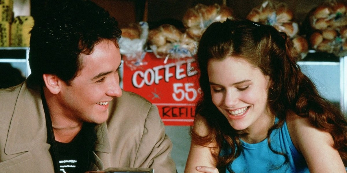 John Cusack and Ione Skye in Say Anything
