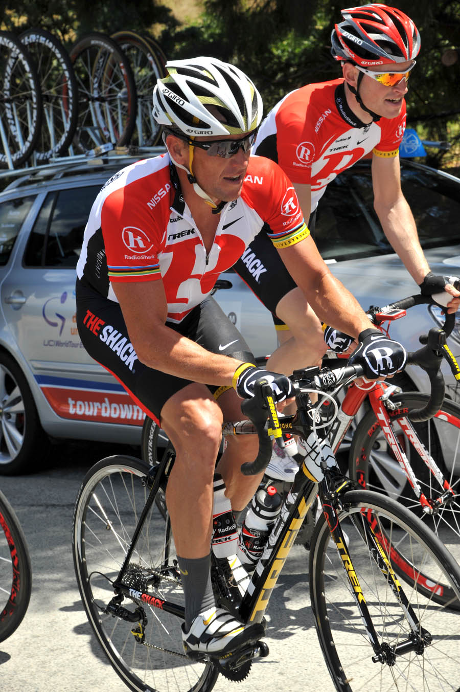 Lance Armstrong and RadioShack get ready for 2011 Tour Down Under in Adelaide