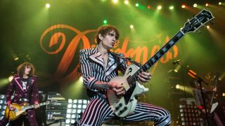 The Darkness onstage