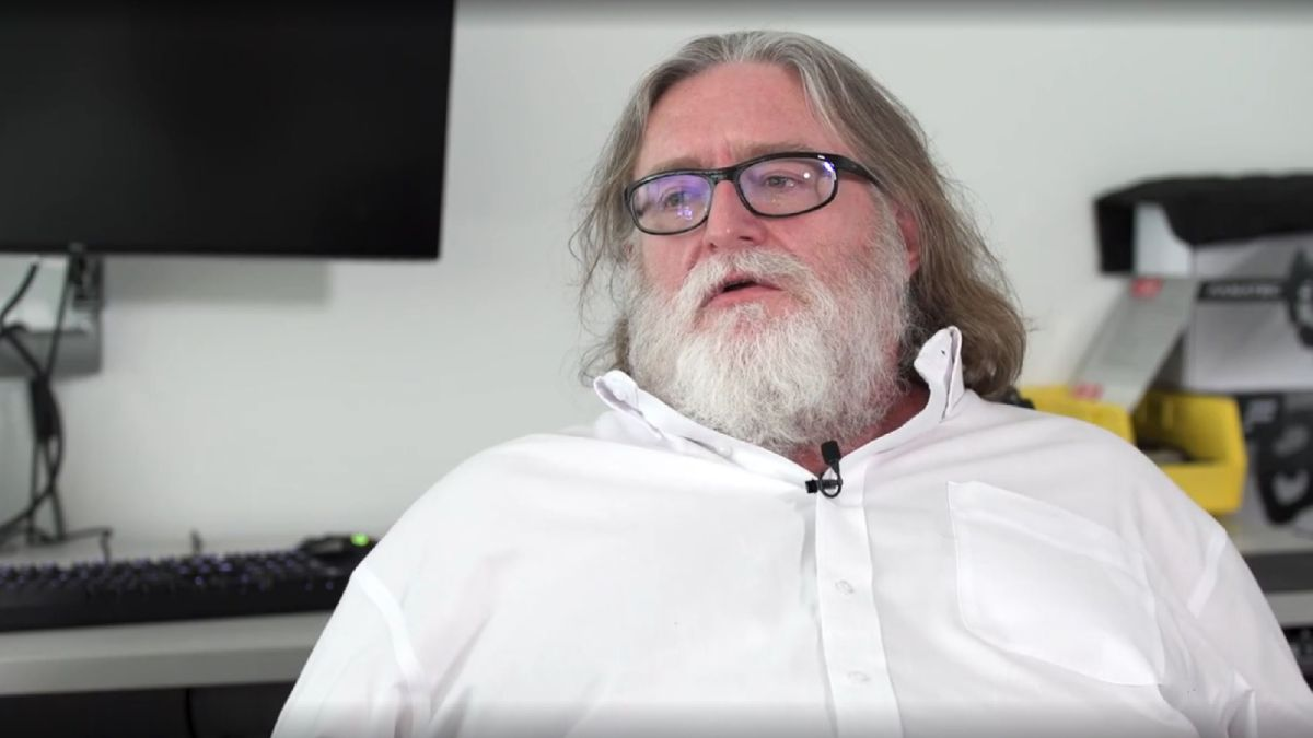 Gabe Newell: 'We're way closer to The Matrix than people realize'