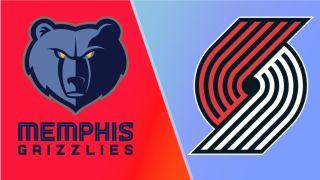 grizzlies vs trail blazers live stream