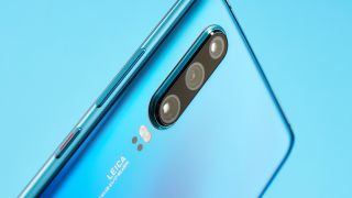 Huawei P30 with three rear cameras