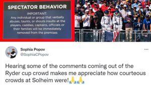 "Sophia Popov Compares ""Courteous"" Solheim Crowds To Ryder Cup's"