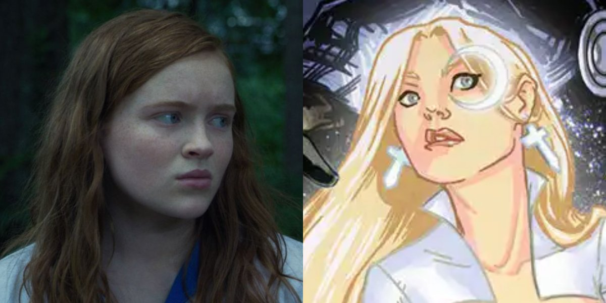 Stranger Things' Sadie Sink and Dagger from X-Men