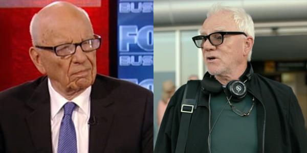 Rupert Murdoch on Fox business Malcolm McDowell on mozart in the jungle