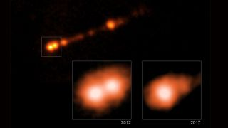 Jets Blast Out of Famous Black Hole at 99% the Speed of Light