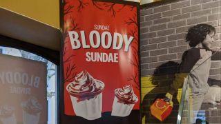 McDonald's sundae poster