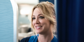 Kaley Cuoco Reveals One Pro To The Flight Attendant Over Playing Penny On The Big Bang Theory