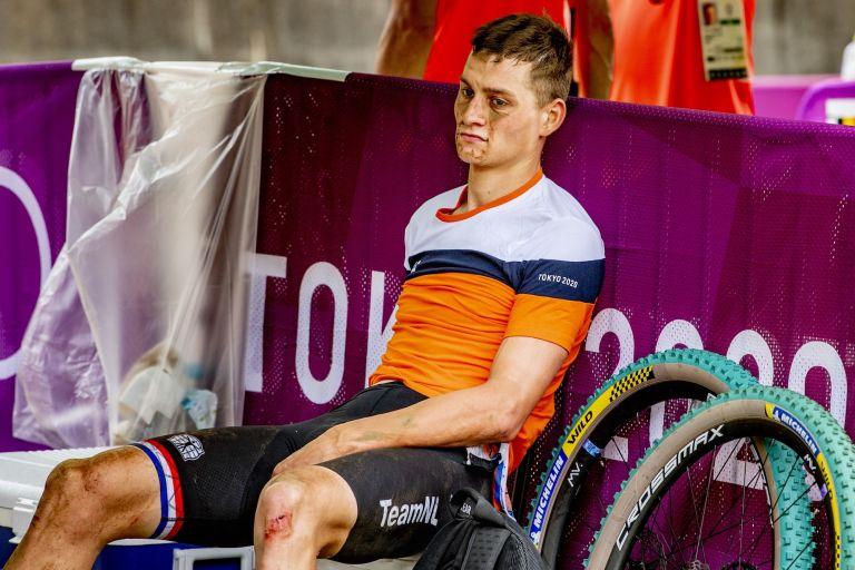 Mathieu van der Poel at the Tokyo Olympics