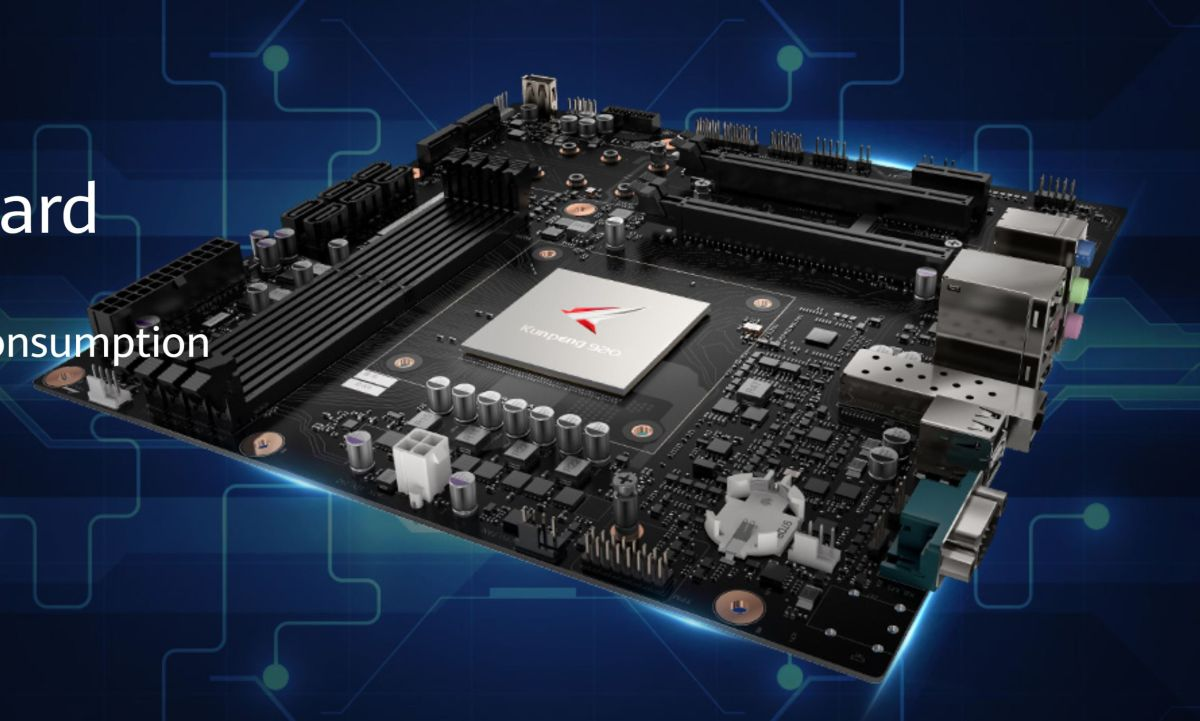 Huawei Aims for Desktop PC Market with Motherboard for Kunpeng 920 ARMv8 Processors