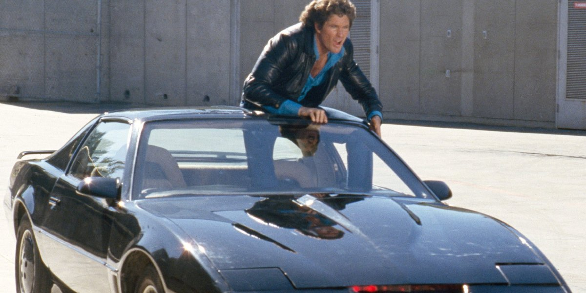 David Hasselhoff on Knight Rider