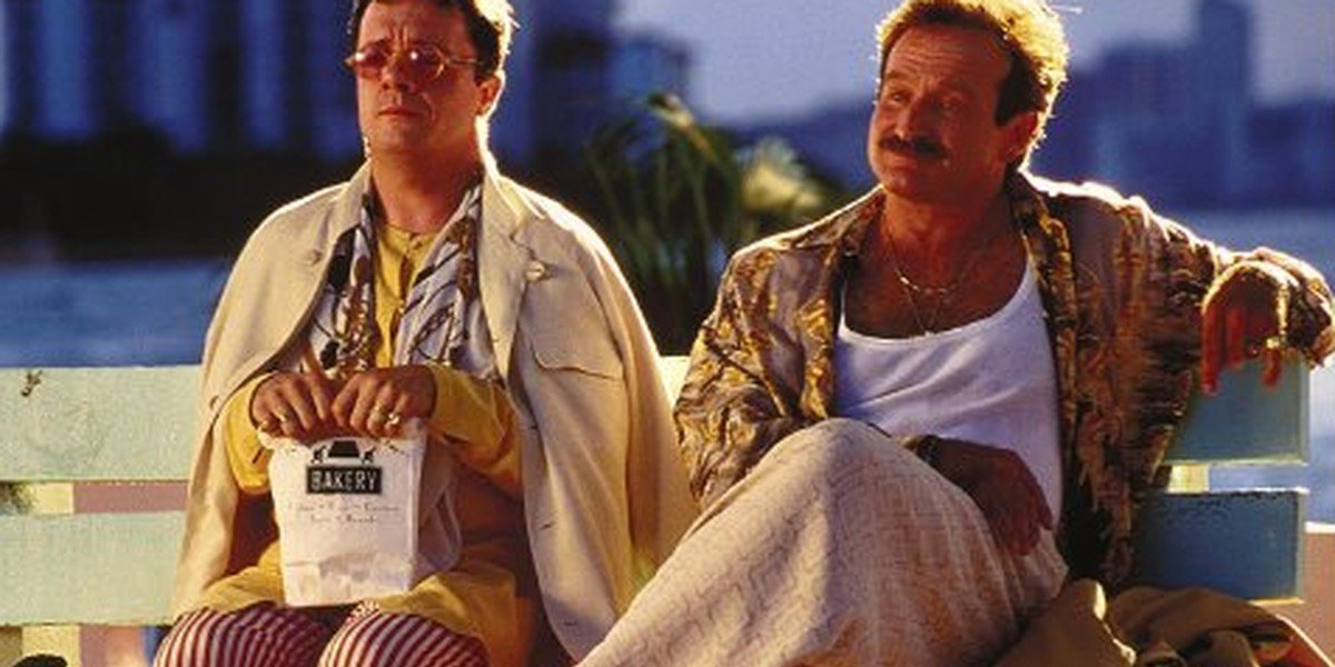 Nathan Lane and Robin Williams in The Birdcage