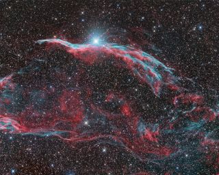 Veil Nebula by Ron Brecher