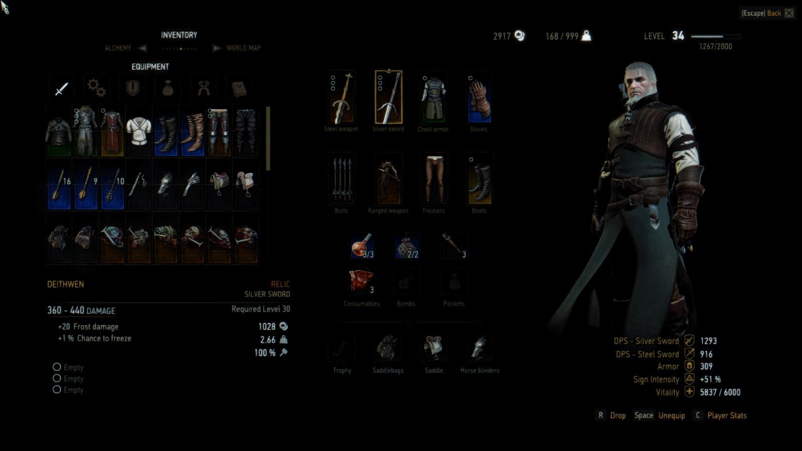 Best Witcher 3 Mods - Indestructible Items