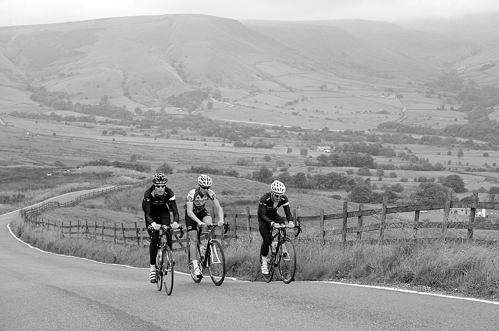 Mam Nick, Rapha Condor Sharp training in Peak District, August 2011