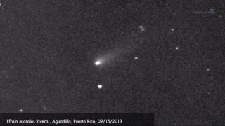 Comet ISON by Efrain Morales Rivera