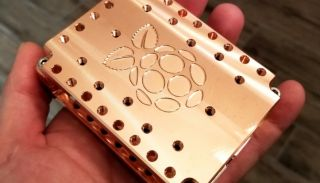 Maker Block Copper Case for Raspberry Pi 4