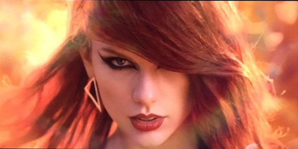 Taylor Swift Bad Blood angry face