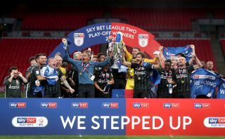 Exeter City v Northampton Town – Sky Bet League Two – Play-Off Final – Wembley Stadium