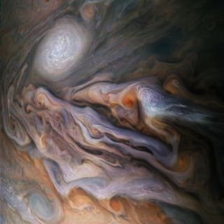 jupiter gas clouds