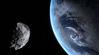 NASA monitors all Near Earth Objects like this, on the off chance its orbit could change.