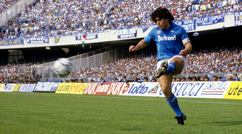 10 Of Diego Maradona S Best Moments The Greatest Player Of All Time Fourfourtwo