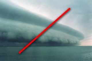 Meteorologists say this image is Photoshopped.
