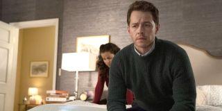 Manifest Season 2 premiere Ben Stone looks nervous on bed