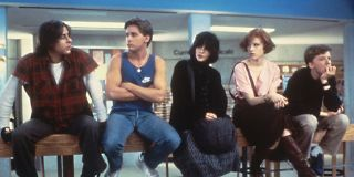 The main cast of _The Breakfast Club._
