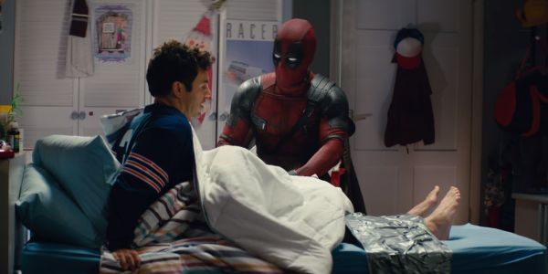 Deadpool and fred savage in Once Upon a Deadpool