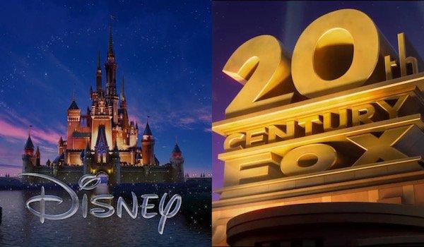 Disney and Fox logos