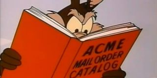 Wile E Coyote Acme Mail Order Catalog Reading